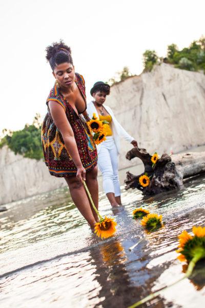OKAN with Sunflowers - Laberinto Shoot - Ksenjia Hotic